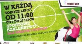 Ostatnia sobota podwórkowych zabaw we Wzorcowni.