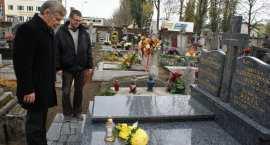 Henryk Bista na włocławskim cmentarzu!