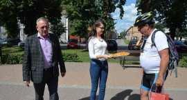 Rajd rowerowy śladami Leszka Czarnego w Brześciu Kujawskim