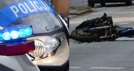 Śmiertelny wypadek z udziałem motocylisty na drodze do Czarże. Nie żyje 21-latek
