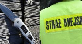 Ksenofobiczne dowcipy na 3-go Maja we Włocławku. 17-latek wyszedł z nożem do Strażników