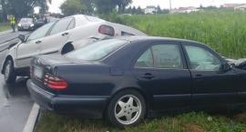 Wypadek w Borku powiat lipnowski. 5 osób poszkodowanych [FOTO]
