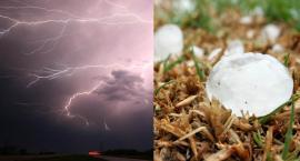 Nad Włocławek i okolice nadchodzą deszcz, burze, silny wiatr i grad