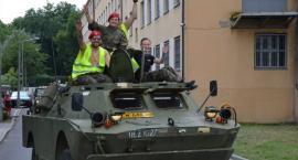 VII Kujawski Zlot Pojazdów Militarnych 2018 w Choceniu - Parada