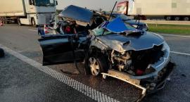 Dwa wypadki w Ludwinowie w Gminie Włocławek. 6 osób w szpitalu [FOTO]