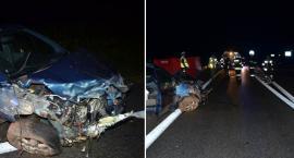 Tragiczny wypadek w Skępem. Nie żyje 55 – letnia kobieta [FOTO]