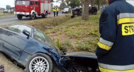 Zderzenie dwóch BMW w Chlebowie. 8 wypadków w powiecie lipnowskim [ZDJĘCIA]