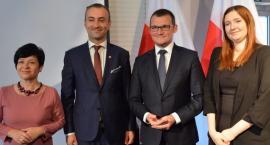 Wiceminister spraw wewnętrznych i administracji we Włocławku. Powstanie szkoła policyjna