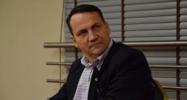 Radosław Sikorski we Włocławku [ZDJĘCIA, VIDEO]
