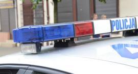 Pościg w Gminie Fabianki. Policjanci nadawali sygnały