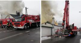 Pożar budynku w Izbicy Kujawskiej. 5 zastępów straży pożarnej w akcji [ZDJĘCIA]