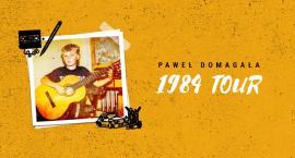 Paweł Domagała 2019 we Włocławku. 1984 TOUR w Browarze B