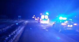 Śmiertelny wypadek w Borzyminie w powiecie rypińskim. 18-latek potrącił pieszego [FOTO]