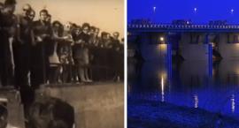 Niesamowity film z 1969 roku z otwarcia tamy we Włocławku. Tłumy oglądały otwarcie śluzy