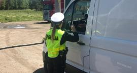 Kolejna akcja policji na DK62. 133 kontrole i 83 mandaty. To nie koniec kontroli