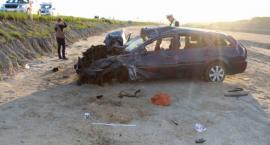 Tragiczny wypadek w regionie. Kierujący fordem nie miał prawa jazdy