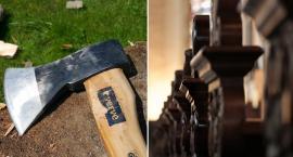 Mężczyzna zaatakował siekierą ołtarz w Kościele w Rypinie