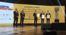 Brześć Kujawski najlepszy w plebiscycie  Złota Setka Pomorza i Kujaw