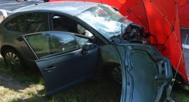 Tragiczny wypadek między Toruniem a Bydgoszczą. Nie żyje 62-latek [FOTO]