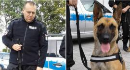 Pies policyjny wytropił złodzieja. Linda nakryła 35-latka jak przygotowywał łupy