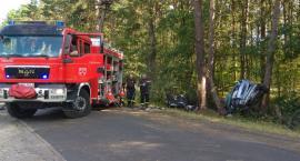Tragiczny wypadek w powiecie mogileńskim. Nie żyją 4 osoby w wieku od 17 do 25 lat