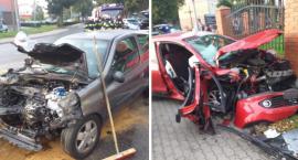 Wypadek w Lubrańcu na DW 270. 3 osoby trafiły do szpitala [ZDJĘCIA]