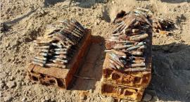 Amunicja z okresu II wojny światowej znaleziona w powiecie nakielskim