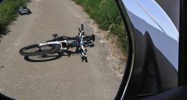 Potrącenie rowerzysty w Woli Nakonowskiej w Gminie Choceń