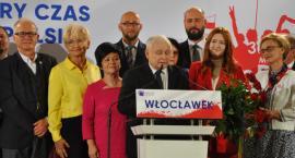 Jarosław Kaczyński we Włocławku 2019. Konwencja PiS [ZDJĘCIA]