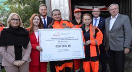 Brześć Kujawski otrzymał czek na 400 tysięcy złotych. Wiemy na co