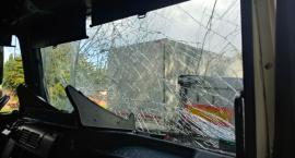 Kraksa 5 pojazdów w Lipnie na DK 10. Zderzyły się samochody ciężarowe [ZDJĘCIA]