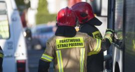 Pożar mebli przy ulicy Starodębskiej we Włocławku. To podpalenie