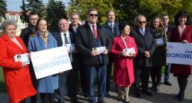 Kandydaci do parlamentu dr  Joanna Borowiak, Józef Łyczak podziękowali za kampanię wyborczą