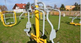 Otwarta Strefa Aktywności w Gminie  Włocławek. Dobra Wola wzbogaciła się  o plac   zabaw i siłownie.