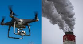 Dym z komina we Włocławku. Czy będzie go sprawdzał dron?