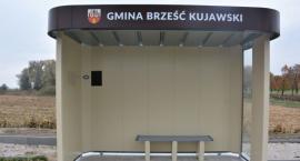 Nowe wiaty przystankowe w Gminie Brześć Kujawski
