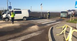 Zderzenie dwóch busów w miejscowości Koniec w Gminie Lubraniec. 8 osób w szpitalu