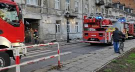 Pożar we Włocławku. 3 wozy strażackie w akcji na Cygance [ZDJĘCIA]