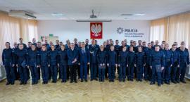 Nowi policjanci trafią do Włocławka, Aleksandrowa i Lipna. 51 policjantów złożyło ślubowanie