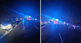 Tragiczny wypadek w Pędzewie. Nie żyje potrącony pieszy [ZDJĘCIA]