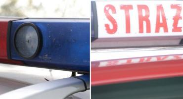 Policja ze Strażakami z Lipna szukała dwoje zaginionych