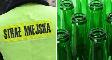 Wymachiwał butelką i zaatakował strażnika miejskiego we Włocławku
