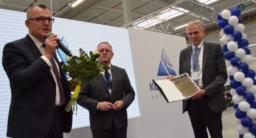 Otwarcie nowej fabryki koncernu Kongsberg Automotive w Brzeskiej Strefie Gospodarczej