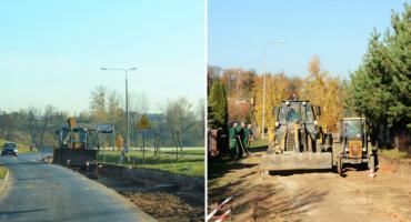 Trwa przebudowa dróg w Gminie Brześć Kujawski. Do Wieńca nowym asfaltem