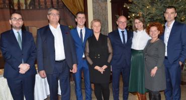 Wigilia SLD 2018 w Pałacu Bursztynowym we Włocławku