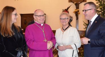 Spotkanie noworoczne 2019 u biskupa Meringa we Włocławku [VIDEO, ZDJĘCIA]