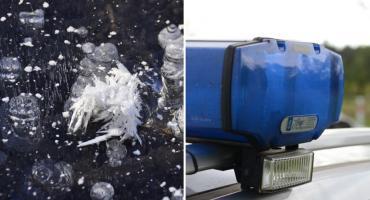 Tragedia! Zamarznięte zwłoki w tafli lodu znalezione w pobliżu Jeziora Chełmickiego
