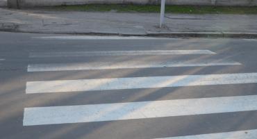 Wypadek na przejściu dla pieszych przy ul. Zbiegniewskiej we Włocławku