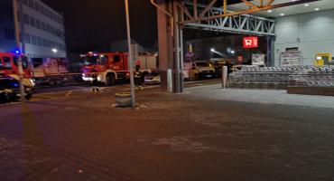 Ewakuacja w Kauflandzie we Włocławku. Jest policja i straż [FOTO]