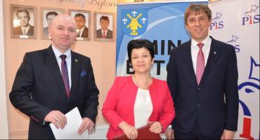 Posłanka Joanna Borowiak odwiedziła Bytoń